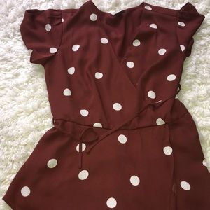 Flattering Maroon Top (Adjustable waist)